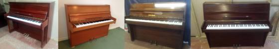 Pianos sold